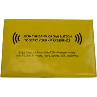 XM Satellite Radio Trial Booklet GM 15778583