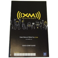 XM Satellite Radio Quick Start Guide Booklet English & French GM 15801051