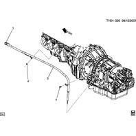 "2003-09 Topkick Kodiak C6500-C8500 Transmission Dip Stick 53"" 15812476 15008895"