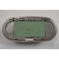 2004-2005 Chevy Malibu Sunvisor Vanity Mirror Gray No Light 15855080 15803234