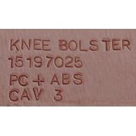 2008-2009 Hummer H2 Knee Bolster Dash Panel Brick Red New OEM 15887595