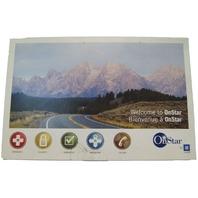 2009-2010 OnStar Manual Kit In English H2 Silverado Yukon 15907588 March 2009