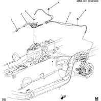 2007-2010 Saturn SKY Emergency E-Brake Parking Handle Lever Black New 15930082