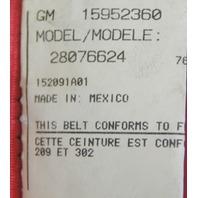 2004-09 Topkick/Kodiak C4500-C8500 Front LH Seat Belt Used Red 15952360 19169487