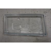1997-2004 Chevy Corvette C5 Left Export Headlight Lens Glass New OEM 16515255