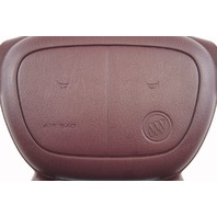 1997-2005 Buick Park Avenue Steering Wheel Center Cover Maroon 16759418A
