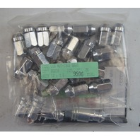 2007-2014 GM Wheel Lug Nut Set 20 Lugs 4 Locks 1 Key M12 X 1.5 New 19165929