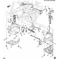 2007-2013 Chevy Corvette C6 Fuel Level Sensor Used OEM 19207710 19149686 SK1228
