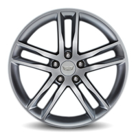 "2013-2018 Cadillac ATS Front Wheel 19"" X 8"" Silver 5-Split-Spoke New 19300918"