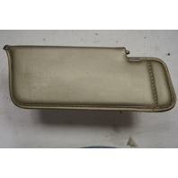 1982 Chevy Corvette C3 Collector's Edition Left LH Sunvisor Gold Used OEM