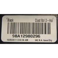 2010-2012 Dodge Caliber Instrument Gauge Cluster Frame Black New OEM 1JW581X9AC