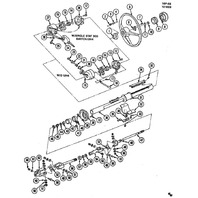 1991-1994 Chevy P30 GMC Forward Control Turn Signal Switch Housing New 02018064