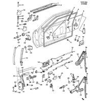 1982-1997 GM Door Hinge Bushings New OEM 11pcs 20429500 20369500 20345137