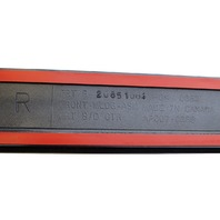 2008-2010 GMC Acadia Traverse RF Door Exterior Moulding Cyber Gray New 20851076
