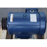Marathon Electric Motor 3 Phase 10HP 208-230/460V 1765RPM Used 215TTFW16026