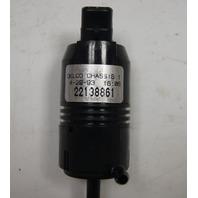 1989-1992 Geo Prizm Windshield Washer Pump ACDelco New OEM 22072906 22138861
