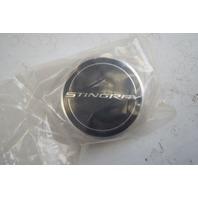 2014-2020 Chevy Corvette Stingray Wheel Center Cap Black New OEM 22782984