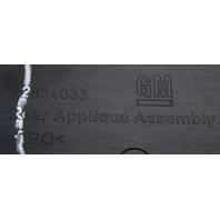 2015-2016 GMC Yukon/Yukon XL Chrome Rear Applique Nameplate New OEM 22834033