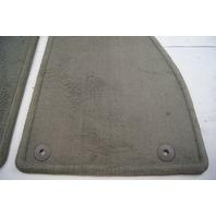 2013-2014 Chevrolet Malibu Floor Mat Set 4pcs Titanium Grey New 22857652