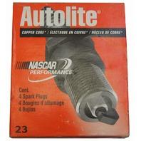 Autolite Spark Plugs # 63 Copper Core Pack of 4 NOS