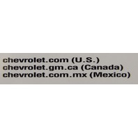 2014 Chevrolet Tahoe Suburban Owners Manual Booklet New Canada Model W/Warranty