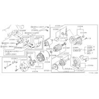1990-1996 Nissan 300ZX 93-97 Infiniti J30 Used Starter 23300 30P16 2330M30P16RW