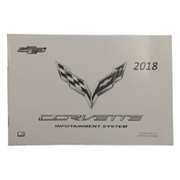 2018 Chevy Corvette C7 Infotainment System Owners Manual Booklet New 23401140