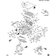 GM Pan Head Torx Bolts Pack of 5 New OEM Black M6 X 1.00 X 16 25608354