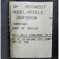 03-09 Topkick/Kodiak C4500-C8500 Front LH Seat Belt Black New 25780337 19169490