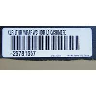 2007-2009 Cadillac XLR Windshield Header Molding Light Cashmere Leather 25781557