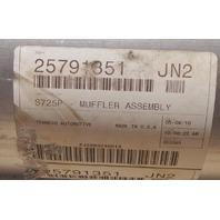 2007-2018 Hummer H3 Exhaust System Muffler W/Resonator New OEM Walker 25791351