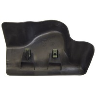 2009 Hummer H2 RH Rear Seat Track Cover Trim Black New OEM 25813806 15181079