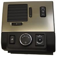 2008-09 Hummer H2 SUV Headlight Switch Bezel LH Vent New Black 20863700 25861040