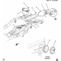 2009-2010 Hummer H3 Fuel Filler Neck Assembly 25873216 V8 Alpha 25873216