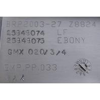 2009-2010 Pontiac Solstice Saturn SKY Front Upper Windshield Trim New 25877987