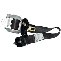 2005-09 Hummer H2 SUV Right Rear Seat Belt Assembly Black New 89024702 25880326