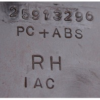 2008-2009 Hummer H2 RH Lower Dash Vertical Trim Brick Red New 25913298 15797046