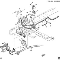2007-2009 Topkick Kodiak T7500 T8500 EBCM Brake Control Module 25916577 19259340