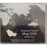 GM Middle East Navigation System Map DVD H2 Version 3.00