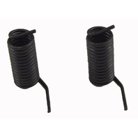 Small Torsion Springs Pack of 2 Black Metal New 30mm Long 14mm Wide 35357206AA