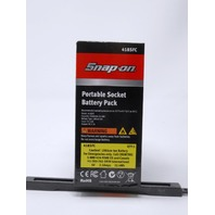 Snap-On Portable Battery Pack Socket New Lithium Ion Charger USB Port 5V