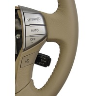 2005-2007 Toyota Avalon Steering Wheel Ivory Tan Leather W/Nav New 4510007231A0