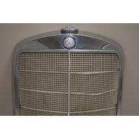 1953-1959 Mercedes-Benz Grille W120 180A 180B 180C 180D Ponton Chrome Used OEM