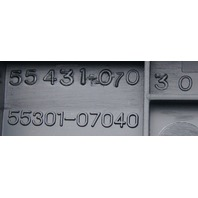 2011-2012 Toyota Avalon Dash Column Cover Trim Panel Black New OEM 5530107040C0