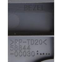 2007-2011 Toyota Tundra Center Console Bezel Box Drk Brown Trim New 588440C030E0