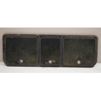 1968-1976 Chevy Corvette C3 Rear Storage Compartment 3 Door & Frame Used Black
