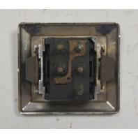 1978-1982 Chevy Corvette C3 Power Door Lock Switch Used OEM W/Lock Embossed