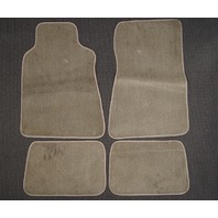 1984-1993 Mercedes-Benz 190E Floor Mats 4pcs New Brown Carpet