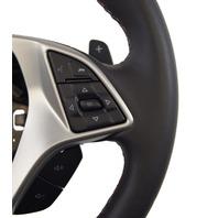 2014-18 Corvette C7 Z06 Steering Wheel Black Leather W/Kalahari Stitch 84198731