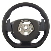 2014-2018 Corvette C7 Z06 Steering Wheel Black Leather W/Red Stitch New 84198732